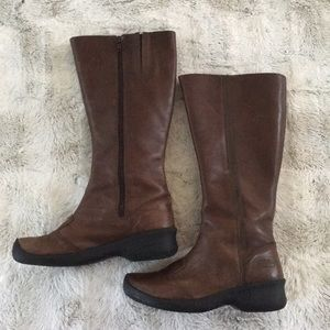 Women's Keen leather knee high boots